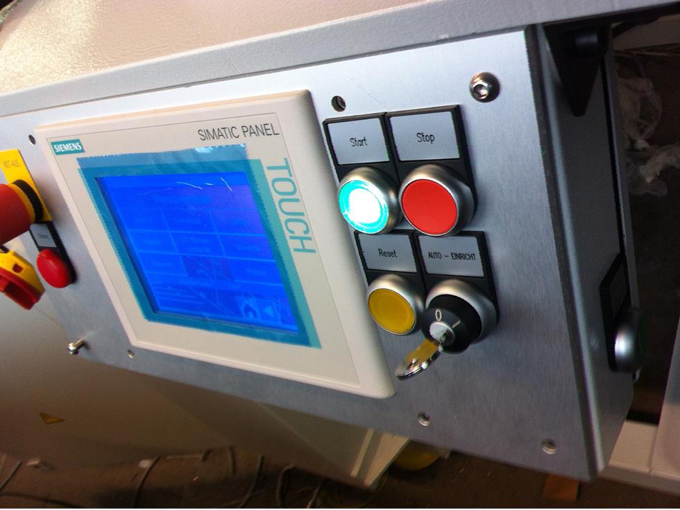Touch Panel, SPS Programmierung