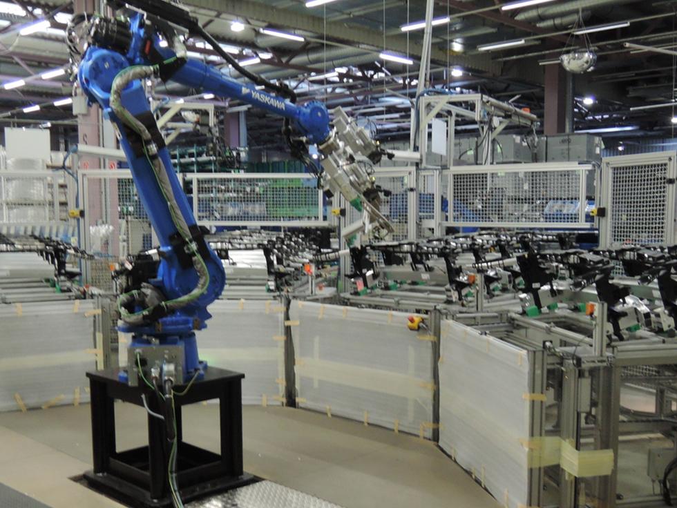 Motoman Yaskawa Roboter Programmierung