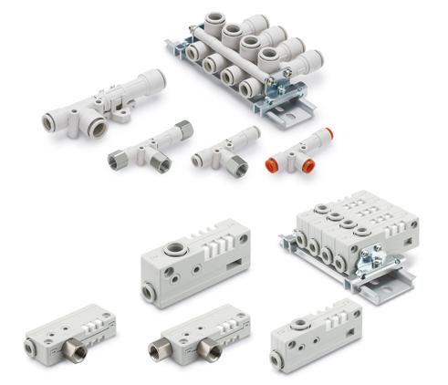 Vakuumerzeuger der Serie ZH als Kompaktversion